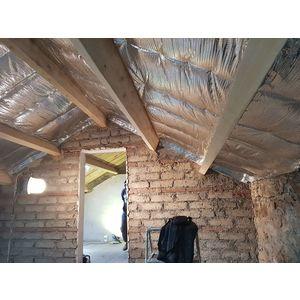 Pose sous rampants de toit