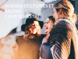 Agenda des foires et salons : 2 ème semestre